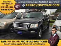 """LOANS MADE EASY - SPORT TRAC - TEXT """"AUTO LOAN"""" TO 519 567 3020"""