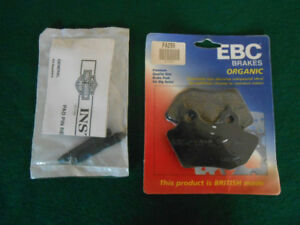 Motorcycle Brake Pads and pins