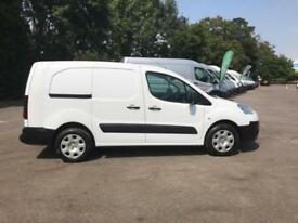 Peugeot Partner L2 716 1.6 92 CREW VAN EURO 5 DIESEL MANUAL WHITE (2013)