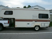 1989 19' TRAVELAIRE 5TH WHEEL TRAVEL TRAILER 1/2 TON PULLABLE
