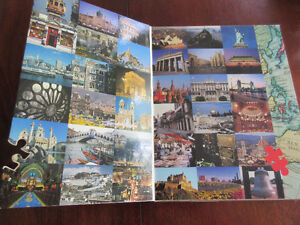 1000 piece puzzle - World's Best Cities