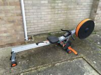 Rowing machine exercise equipment