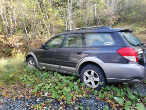 2008 Subaru Outback Parts or Repair Will Tow To You For Free