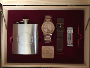 Men's Automatic Wood Watch SET  (Limited Ed.)