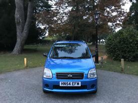 2004/54 Suzuki Wagon R 1.3 R+ GL 5 Door Estate Blue