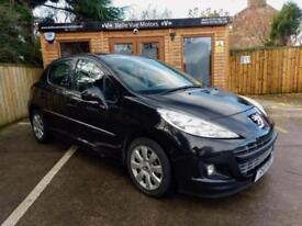 **NEW YEAR SALE**2011 PEUGEOT 207 1.4 75 ACTIVE 5 DOOR IN BLACK
