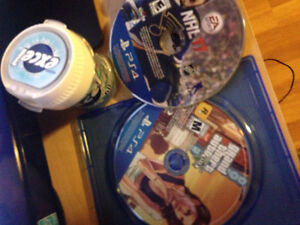 Nhl 17 and Gta v for ps4