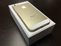 32GB Unlocked Iphone 5S, Wind,Mobilicity,Telus+All, + Applecare