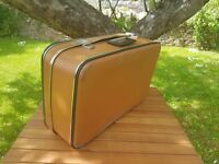 Vintage 60's suitcase with Cheney fasteners