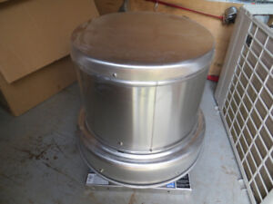 New Roof exhaust fan 1/4 hp Greenheck
