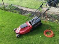 Mountfield Electric Mower with roller two baskets lawnmower
