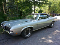 REDUCED! Classic 1970 Mercury Cougar XR7 - CONVERTIBLE