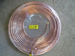 1/2 soft copper tubing
