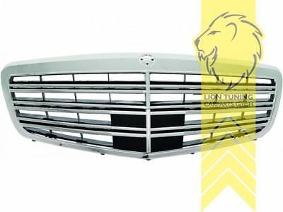 Sportgrill Kühlergrill für Mercedes Benz S-Klasse W221 chrom