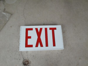 Exit Sign (New)
