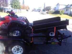 Quad and trailer and trailer combo