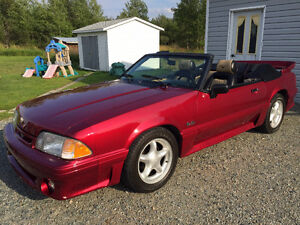 1989 Ford Mustang 5.0 L Convertible Cabriolet