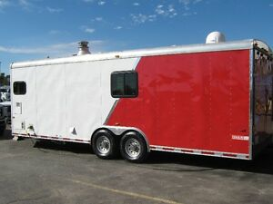 2012 Forest River Car Hauler Converted to All season RV.