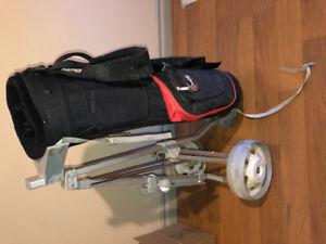 Golf bag and Cart / Sac de Golf et  Chariot 80$