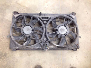 Electric Fans for 05-07 Chevy / GMC 1500