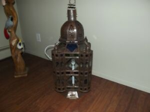 Moroccan Table Lamp Electric $150