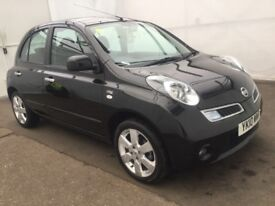 Nissan MICRA 1.2ltr, 5drs, only 1 owner, low Mileage