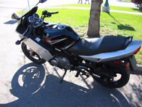2008 SUZUKI GS500F BLACK/SILVER MOTORCYCLE