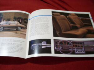1984 Grand Prix sales folder Peterborough Peterborough Area image 3