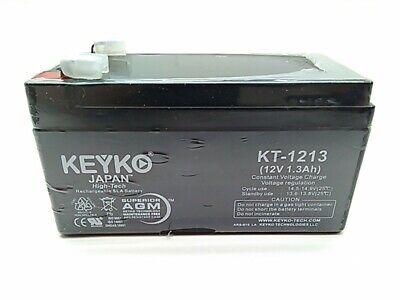KEYKO 12V 1.3Ah SLA Battery Replaces Mity-Vox SW212 Wireless PA (Mity Vox Pa System)
