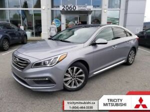 2015 Hyundai Sonata Sport  LEATHER-SUNROOF-REAR CAM