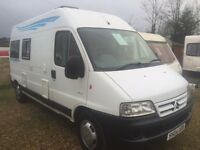 Citroen relay 2004 2 berth camper with pas