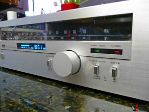 Sansui T-80 AM/FM Digitally Quartz Locked Stereo Tuner for sale