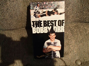THE BEST OF BOBBY ORR - VHS TAPE - LIKE NEW Sarnia Sarnia Area image 1