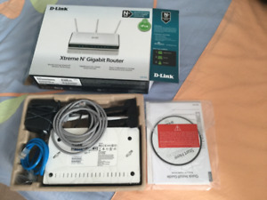 Xtreme N Gigabit Router (DIR-655) new in box never used