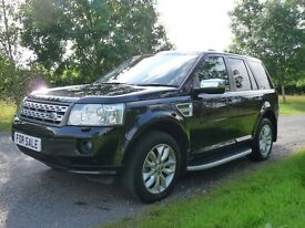 Land Rover Freelander 2.2 SD4 HSE AUTO (black) 2012