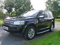 Land Rover Freelander 2.2 SD4 HSE AUTO (black) 2012