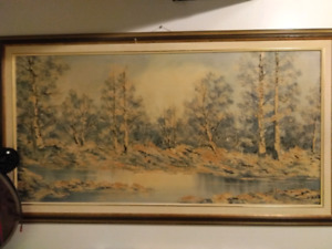 Antique/vintage oil painting