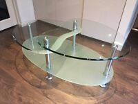 Glass Coffee Table - REDUCED