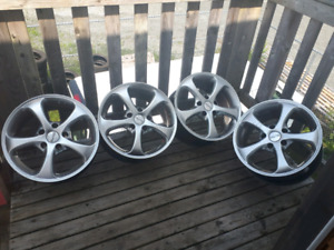 18x8.5 5x130 alloy wheels
