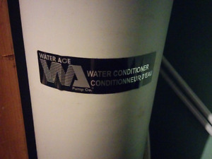 Water conditioner Never used (has been stored in a closet)