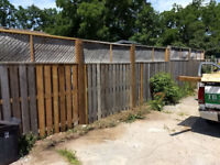 Fence Post Replacement Specialists. Fence Repair + Gate adj