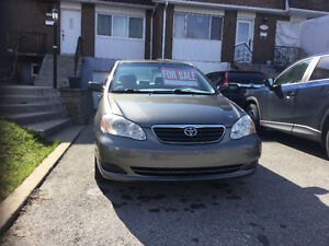2005 Toyota Corolla CE Sedan, NO RUST, with two sets of tires