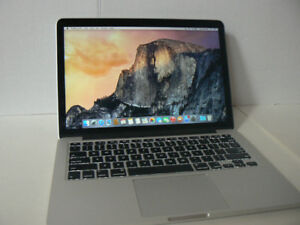 "MacBook PRO Retina 13"" Intel Core i5 2.60ghz 8gbRam 128ssd OSX10"