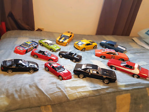 Collection of Diecast Cars.