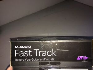 M-Audio Fast Track (Recording Equipment)