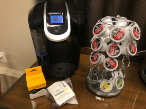 Keriug Coffee Maker 2.0 with accessories