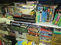 100's of Children's VHS and 100's of VHS Movies (Benefits SPCA)
