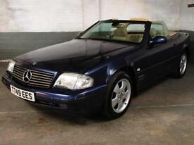 Apr. 1999 T MERCEDES-BENZ SL320 R129 3.2 V6 AUTO Final Edition PANORAMIC HardTop