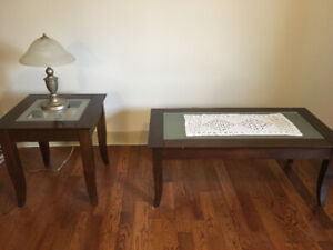 Coffee and End Table Glass