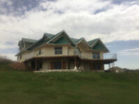 Waterfront Home North Shore Prince Edward Island on 9.3 Acres